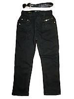 Коттоновые утеплённые брюки для девочек, размеры 98(3шт) Seagull. арт. 88209, фото 1