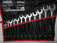 Набор ключей гаечных Miol 51-714 (12 штук)