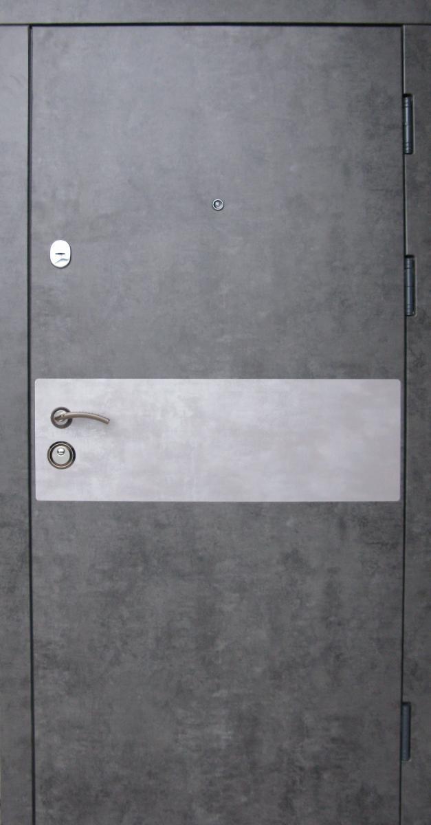 Входные двери Редфорт Грей мрамор темный в квартиру