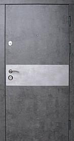 """Входные двери """"Редфорт(Redfort)  Грей"""" мрамор темный, МДФ в квартиру"""