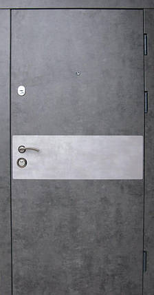 Входные двери Редфорт Грей мрамор темный в квартиру, фото 2