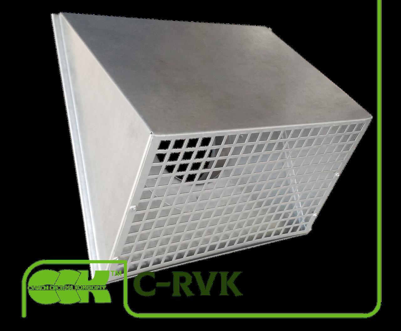 Канальная решетка воздухозаборная C-RVK-100