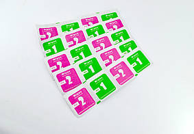 Салфетки для поклейки защитного стекла (10*2 шт в комплекте)