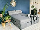 Кровать Дуо 160×220 ( Ладо, Бескаркасная мебель), фото 5