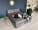 Кровать Дуо 160×220 ( Ладо, Бескаркасная мебель), фото 6