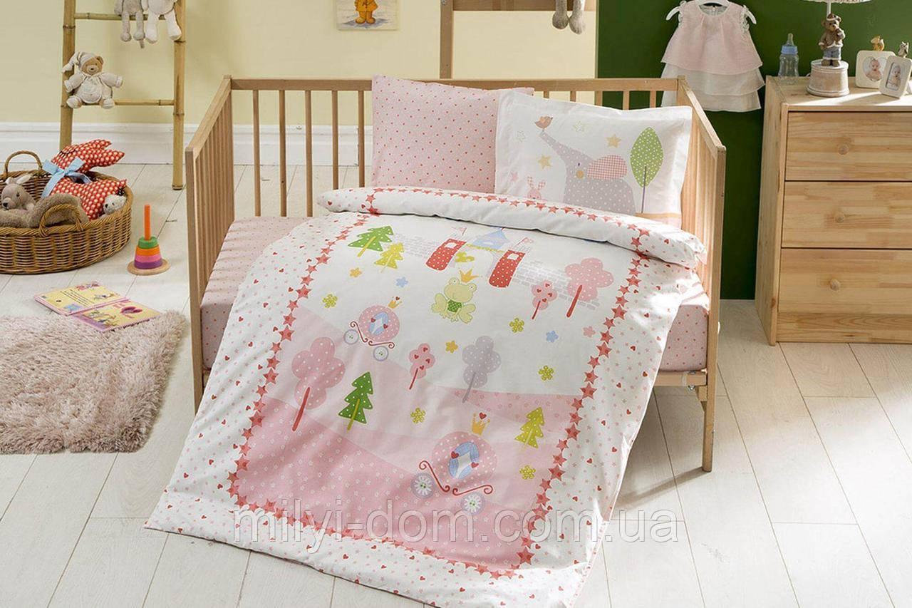 Постельное белье для новорожденных ТАС Princess Story Pink