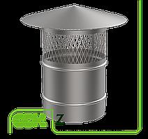 Крышный элемент вентиляции из оцинкованной стали Z-250 ZS