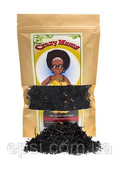 Чай чёрный с бергамотом и цедрой апельсина, 100 г