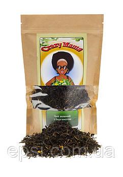 Чай зелёный с бергамотом, 100 г