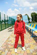 Дитячий трикотажний спортивний костюм Eliza червоний (478)