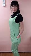 Костюм сарафан Зарина рубашечная ткань, фото 1