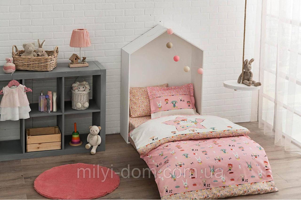 Постельное белье для новорожденных ТАС Game Pink
