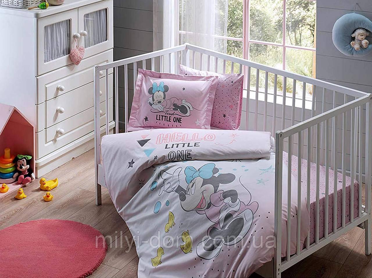 Постельное белье для новорожденных ТАС Disney Minnie Bubble Baby