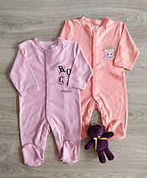 Человечек для новорожденных Принцесса Кошка Польша Комбінезон сліпи на немовлят, фото 1