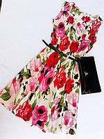 Жіноче плаття квітами, фото 1