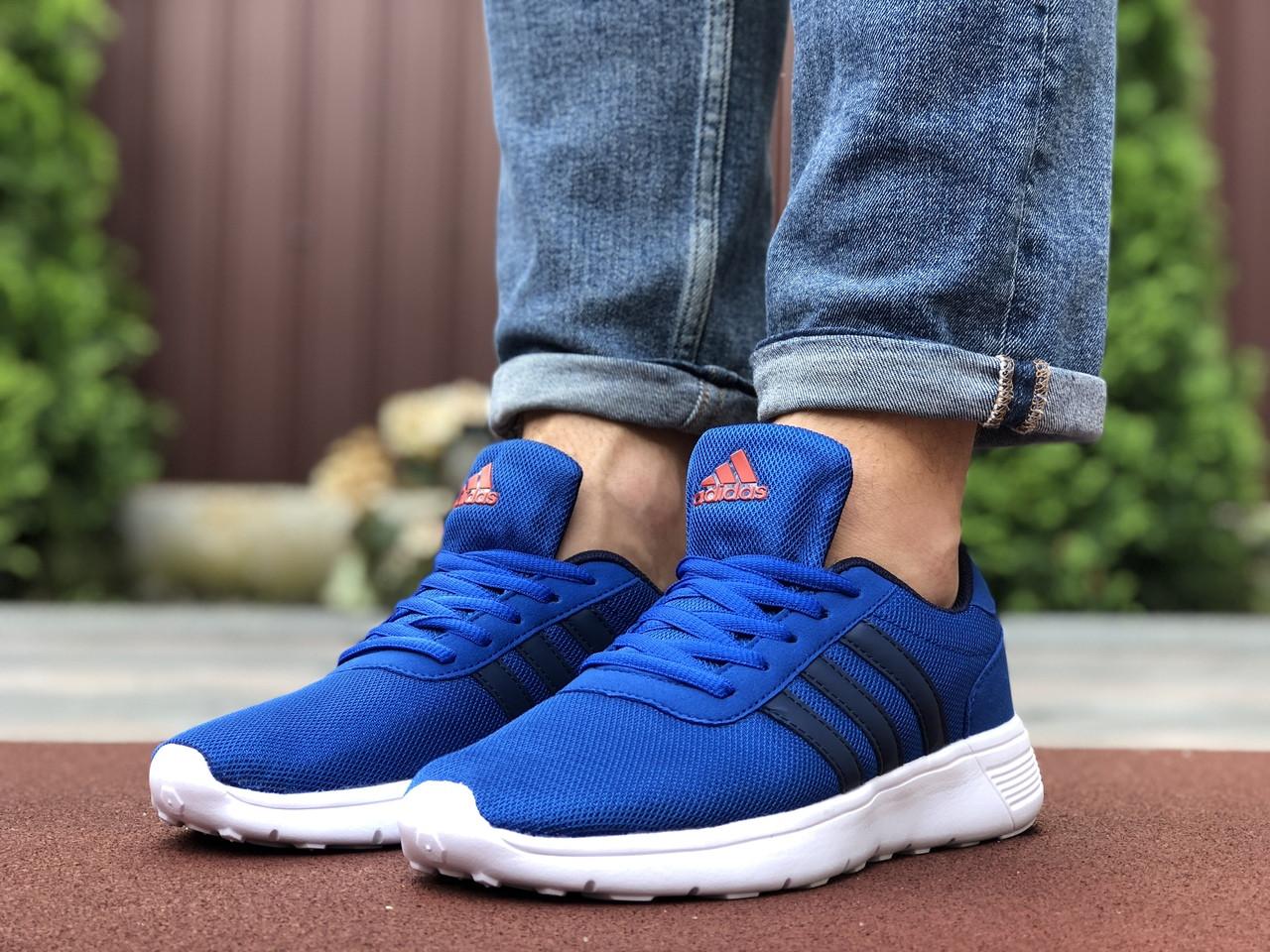 Синие кроссовки мужские сетка классика мягкие