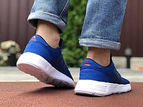 Синие кроссовки мужские сетка классика мягкие, фото 3