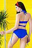 Раздельный купальник с юбкой Totalfit KR5-C12 S Синий, фото 2
