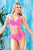 Раздельный купальник с юбкой Totalfit KR5-C2 XS Розовый, фото 2