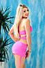 Раздельный купальник с юбкой Totalfit KR5-C2 XS Розовый, фото 4