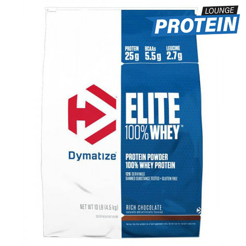 Ізолят сироваткового протеїну Dymatize Elite Whey Protein Isolate (4,5 kg)