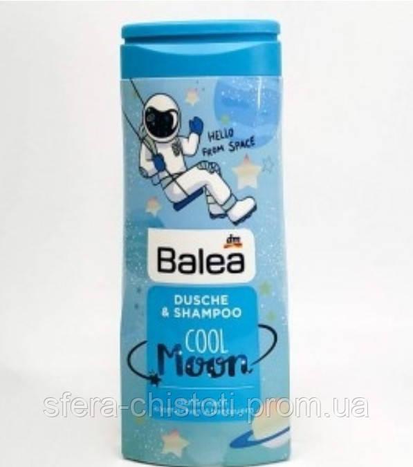 Balea детский шампунь-гель для душа Cool Moon 300мл - фото 1