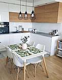 Стол обеденный НУРИ белый 120х80 см на буковых ножках SDM Group (бесплатная доставка), фото 6