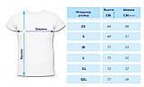 Мужские футболки для вышивки. Размер XS, S, L, фото 2