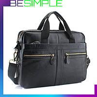 Мужская сумка из натуральной кожи Westal alfa A4