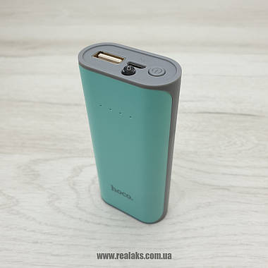 PowerBank Hoco 5200mA B21 (Green), фото 2