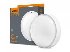 LED светильник круглый VIDEX 9W 5000K 220V белый