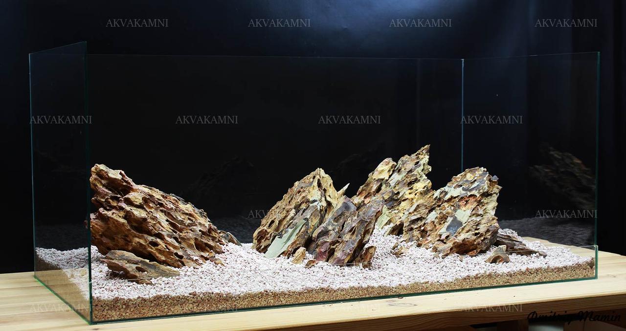 Композиция из Dragonstone K2 для аквариума от 120л