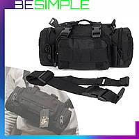 Тактическая штурмовая наплечная сумка ForTactic 5л (A04)