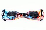 Гироcкутер Smart Balance Premium Pro 6.5 Огонь и Лёд TaoTao APP. Гироборд Про вогонь та лід Автобаланс, фото 5