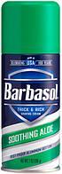 Крем-пена для бритья Barbasol с алое для сухой кожи Aloe 198 гр