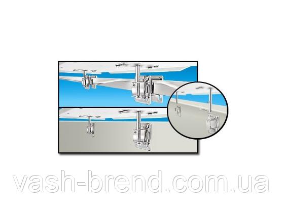 Крепление на квадратную трубу или вертикальную поверхность