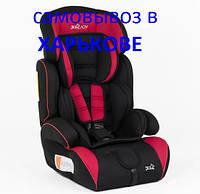 Детское универсальное автокресло JOY, группа 1/2/3, от 9-36 кг, 89421 черно-красное