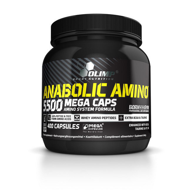 Аминокислотный комплекс Olimp Anabolic Amino 5500 Mega Caps (400 caps)