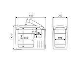 Компрессорный автохолодильник Dometic CoolFreeze CF-26 диапазон температуры от +10 до -18℃, фото 2