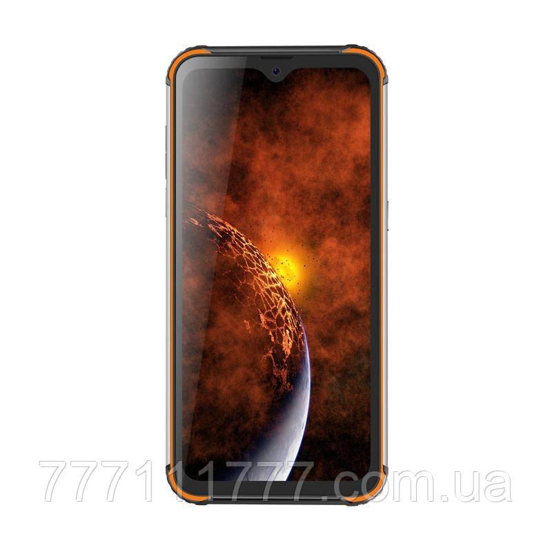 Смартфон защищенный оранжевый с большим дисплеем и батареей большой емкости Blackview BV9800 orange 6/128 гб
