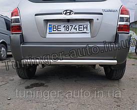 Защита заднего бампера, дуга, кенгурятник Hyundai Tucson 2004-2010 (Турция)