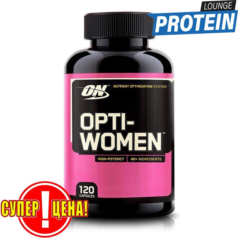 Комплекс витаминов и минералов для женщин Optimum Nutrition Opti-Women 120 caps США