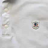 Футболка поло (тенниска) для мальчика SmileTme Polo, белая, фото 5