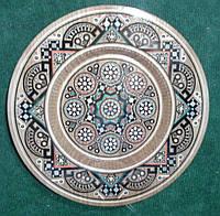 Декоративна тарілка на стіну ручної роботи