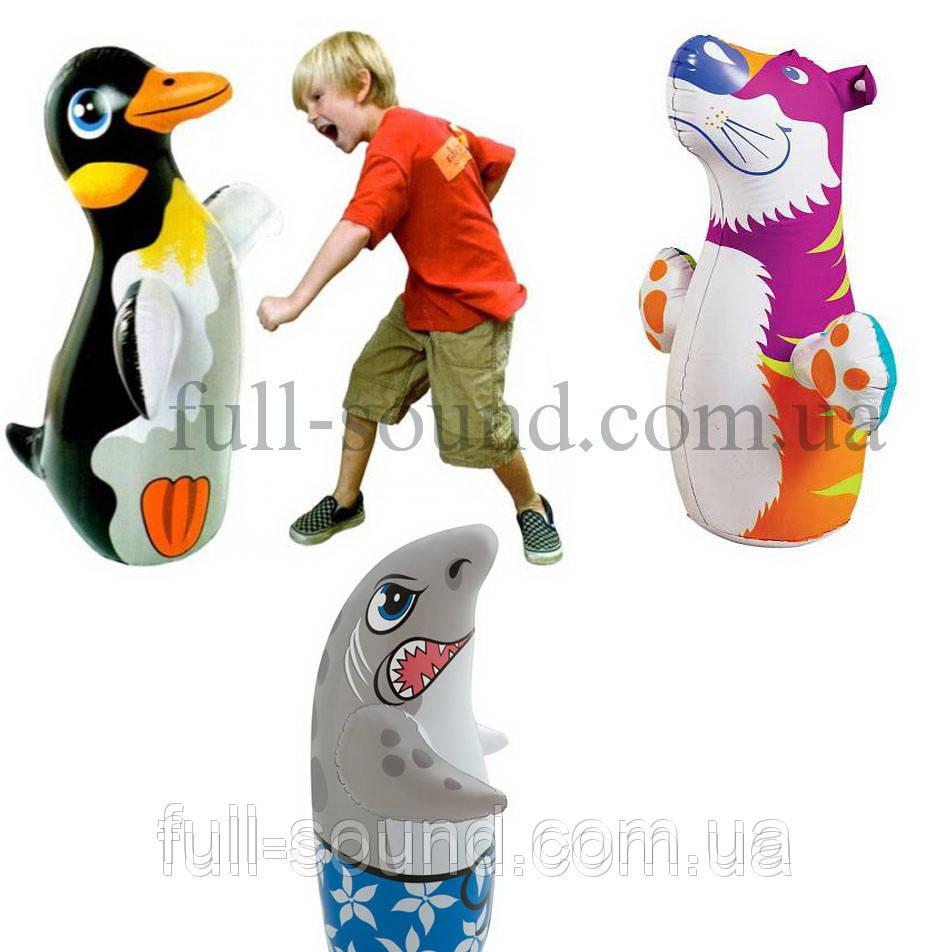 Детская надувная игрушка неваляшка Intex. 3 разные модели