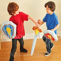 """Детская надувная игрушка Intex """"Щит и меч"""". 2 цвета"""