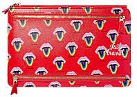 Тревел-холдер для документов Yes Fancy красный
