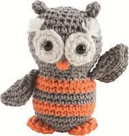 "Набор для вязания крючком Mini Crochet Kit No.08 ""Совёнок"""