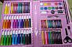 Набор для рисования для девочек 86 предмета Розовый 154687, фото 6