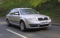 Ветровики, дефлекторы, защита окон для автомобиля Skoda Superb I 2002-2008 \ Шкода Суперб 1 (28314 / 106)